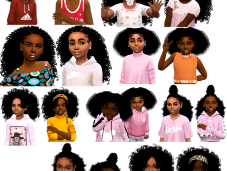 Child and Toddlers Hair pack