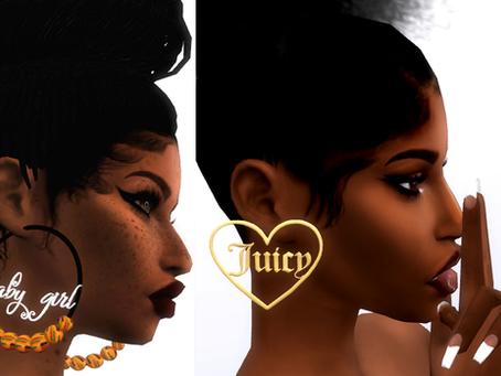 Juicy Earrings/Baby Girl Earrings