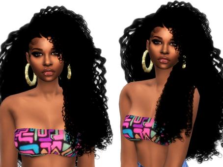 Nila curls Long
