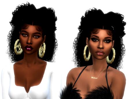 KaylaHair/ KellyHair/ Bamboo Earrings