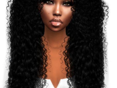 Curly Wild Hair