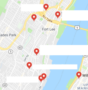 Edgewater, NJ therapists google maps