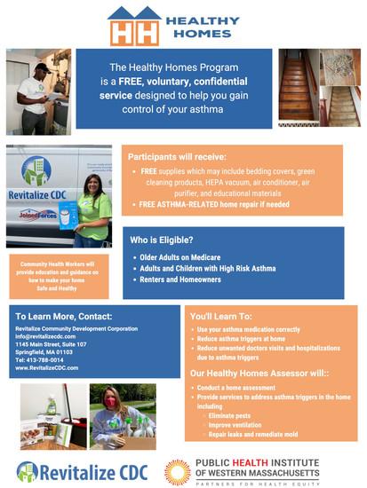 Healthy Homes Flyer Spanish & English 3-