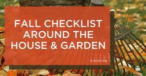 Fall Checklist Around the House and Garden