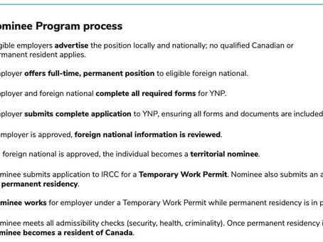 Yukon Community Pilot PR and Open Work Permit: Immigration Program Eligibility and Process