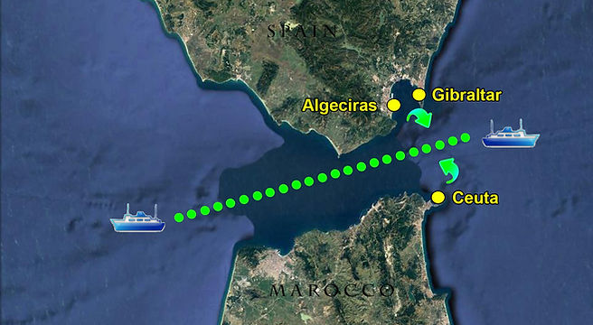off port limits in gibraltar