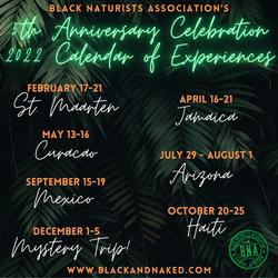 BNA 2022 Calendar