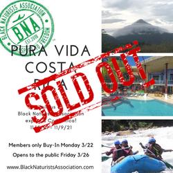 Costa Rica: November 4-9, 2021