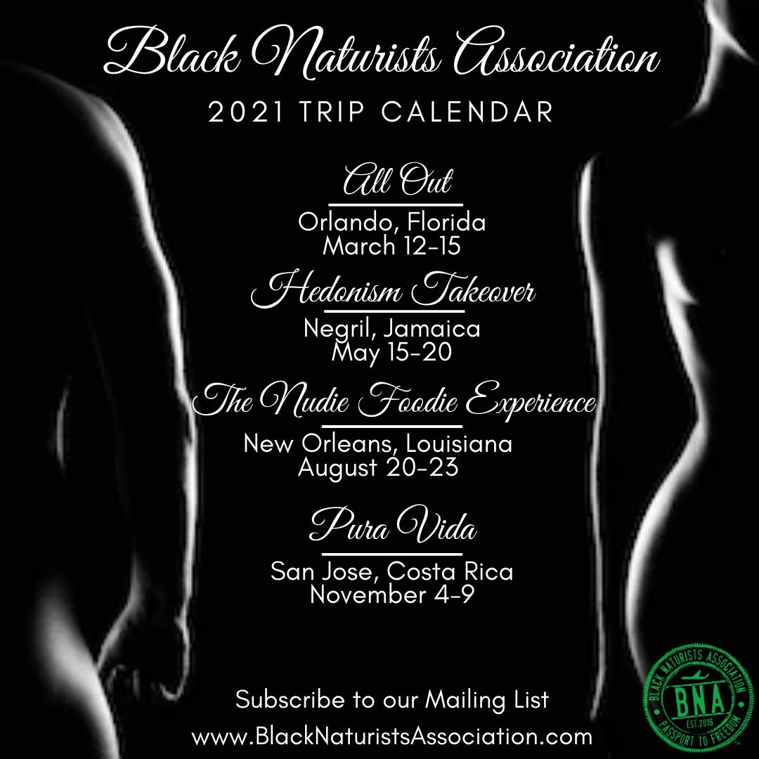 BNA 2021 Calendar