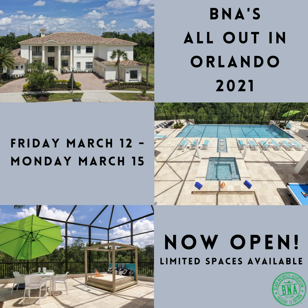 Orlando - March 12-15: Open Now!