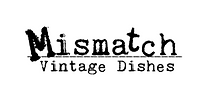 Mismatch Vintage Dishes