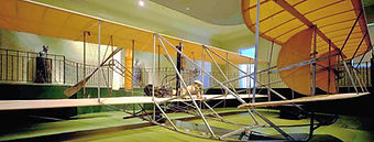 Wright Flyer at Dayton History.jpg