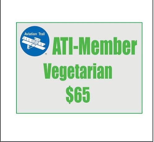 ATI Member Reservation - Vegetarian