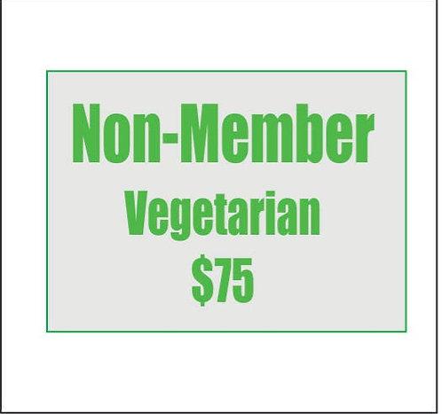 Non-Member Reservation - Vegetarian
