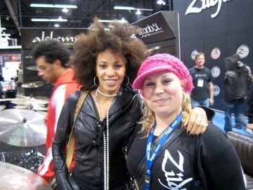 Cindy Blackman (drums Lenny Kravitz)