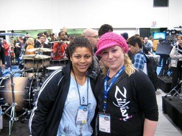 Nikki Glaspie (drums Beyoncé)