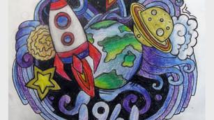 """Конкурс детского творчества """"Большое космическое путешествие"""""""