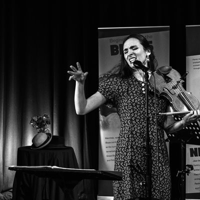 """Claire at Wall2Wall jazz: """"A highly impressive performance"""" - Ian Mann"""
