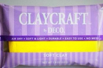 Глина Claycraft by Deco желтая