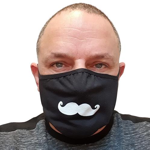 movember moustache face mask