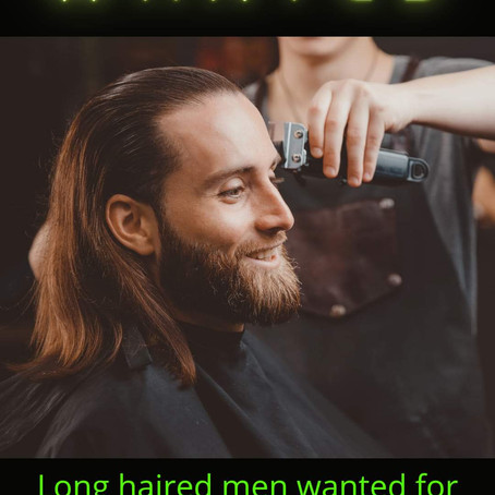 Wanted: Long Haired Men