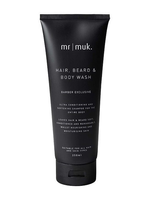 Mr Muk Shampoo Beard and Body Wash