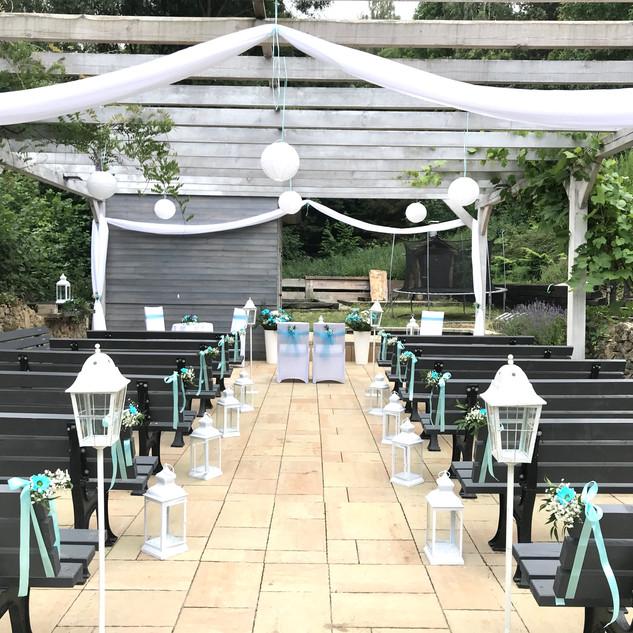 Ślub w plenerze w naszym ogrodzie