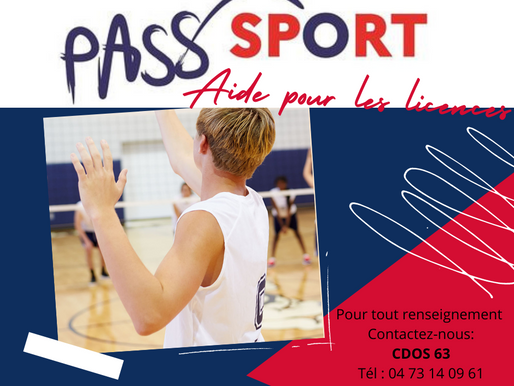 Pass Sport 2021 : 50€ pour les jeunes de 6 à 18 ans