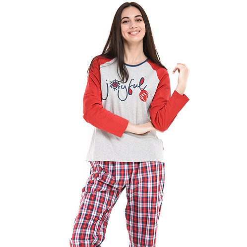 Joyful (Ladies Pajama Set)