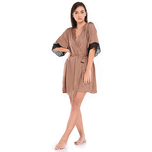 Dressing Gown Brown