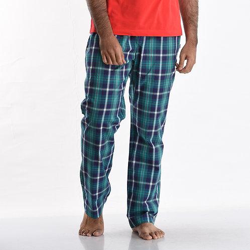 Green Check Pants