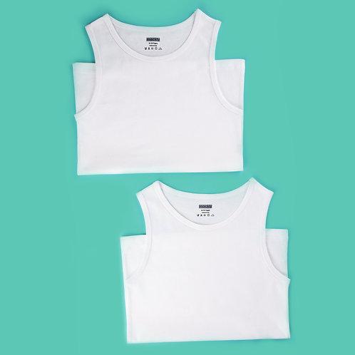 Boys Vest (Sleeveless) - 2 in a Pack