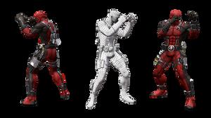 3Д моделирование персонажа для игры