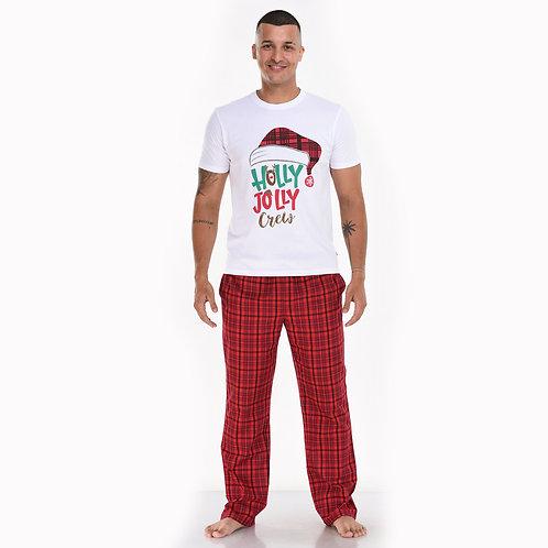 Holly Jolly (Men's Pajama Set)