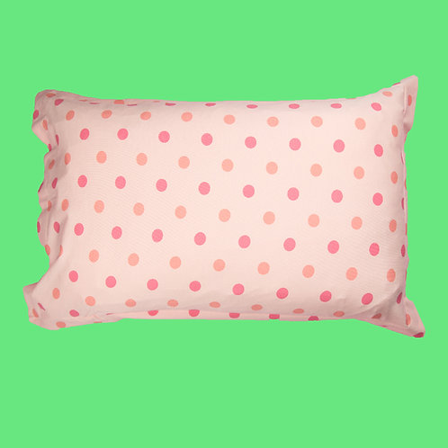 Peach Dot Pillowcase
