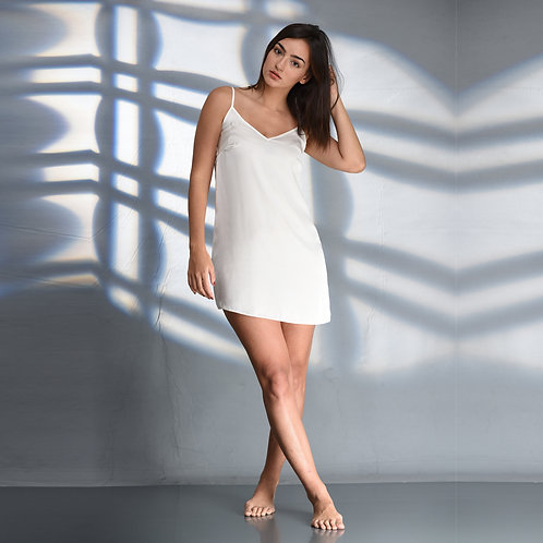 Slip Dress - White (NOS Collection)