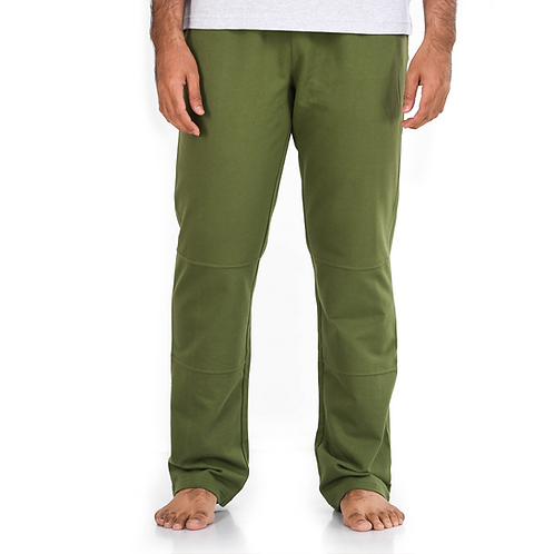 Green Terry Pants