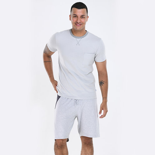 Marl Neck Tee (T-Shirt Only)