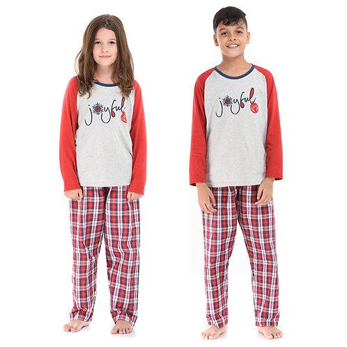 Joyful Kids Pajama Set (Unisex)