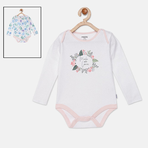 Made with Love Bodysuit (2 in a pack)