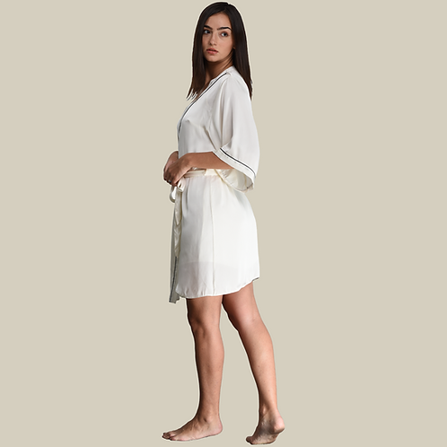 Dressing Gown - White (NOS Collection)