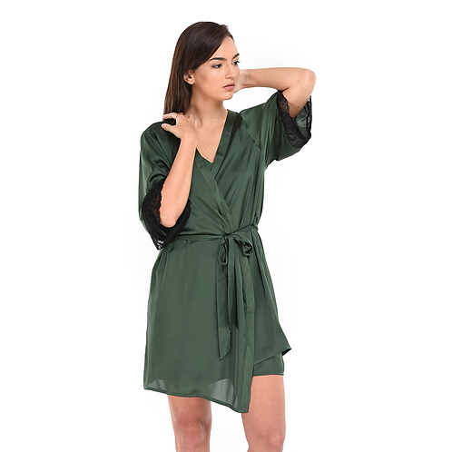 Dressing Gown Green
