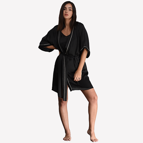 Dressing Gown - Black (NOS Collection)