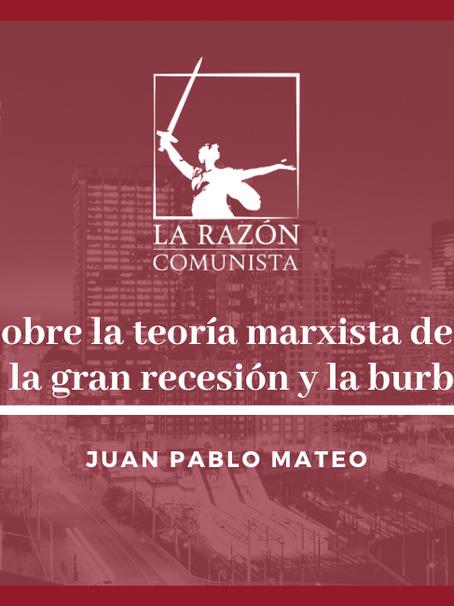 2.3 La teoría marxista de la crisis a propósito de la gran recesión y la burbuja de activo