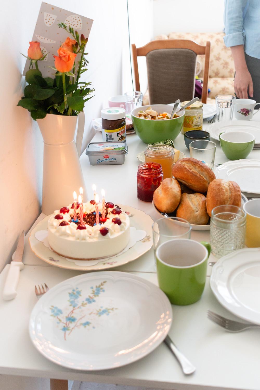 My German birthday breakfast