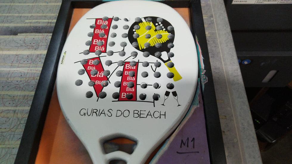 Impressão uv em raquetes de tênis (personalizados)