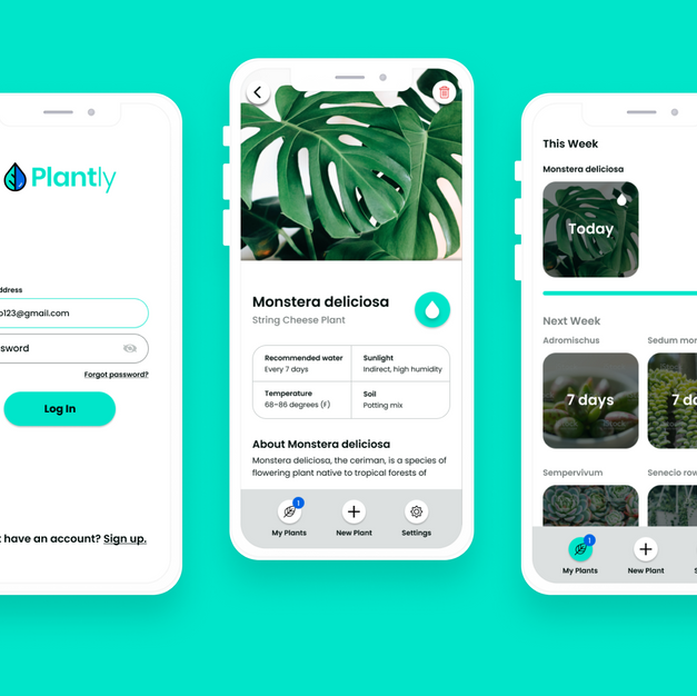 Planty: app concept