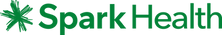 Spark Health Logo Horizontal Dark Green
