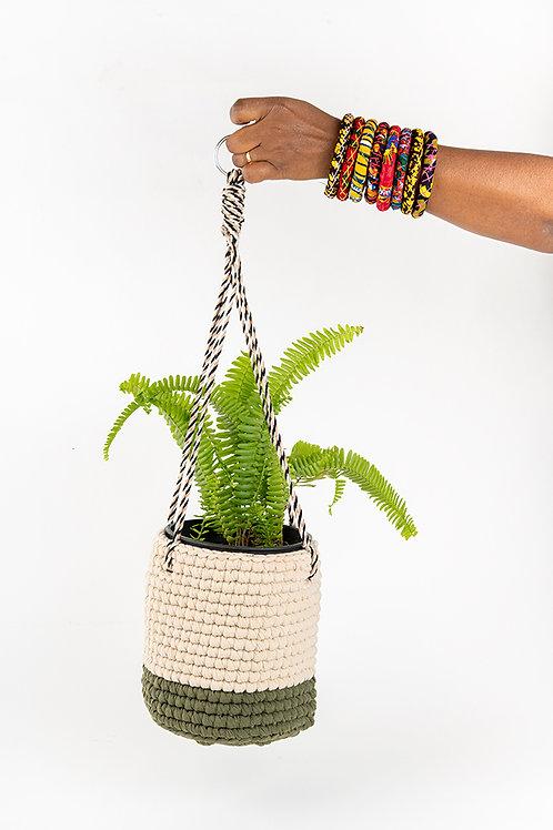 Crochet Large Plant Holder Jeruz