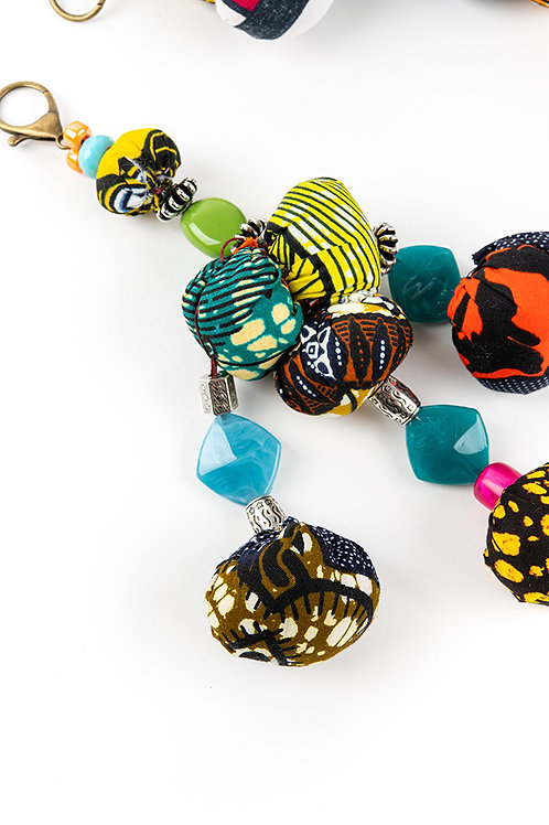 Lina African Keychains
